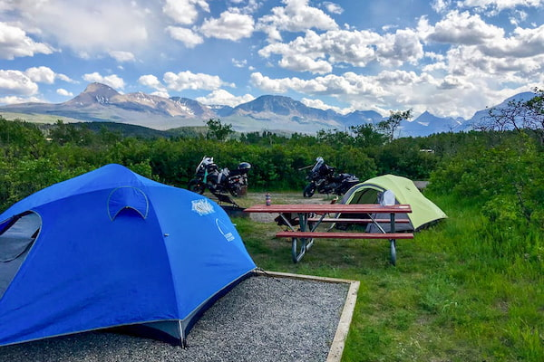 St Mary Campground in Glacier National Park - Photo from The Dyrt