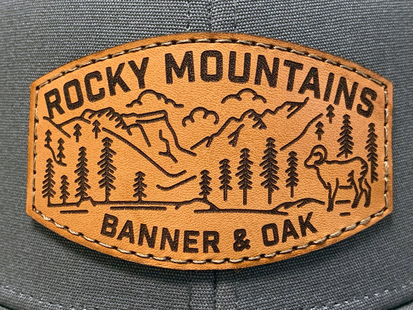 rocky mountains patch artwork