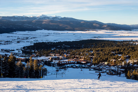 Angel Fire ski resort, one of the best ski resorts in New Mexico.