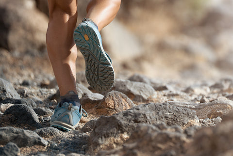 Trail running shoes are the most common shoe for thru hikers on The Pacific Northwest Trail.