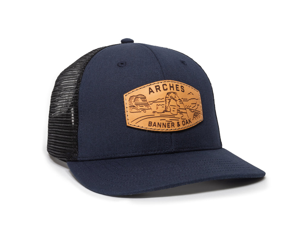 Arches - Navy