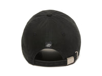 Trek Woven Label Patch Ladies Fit Cap Black Back View