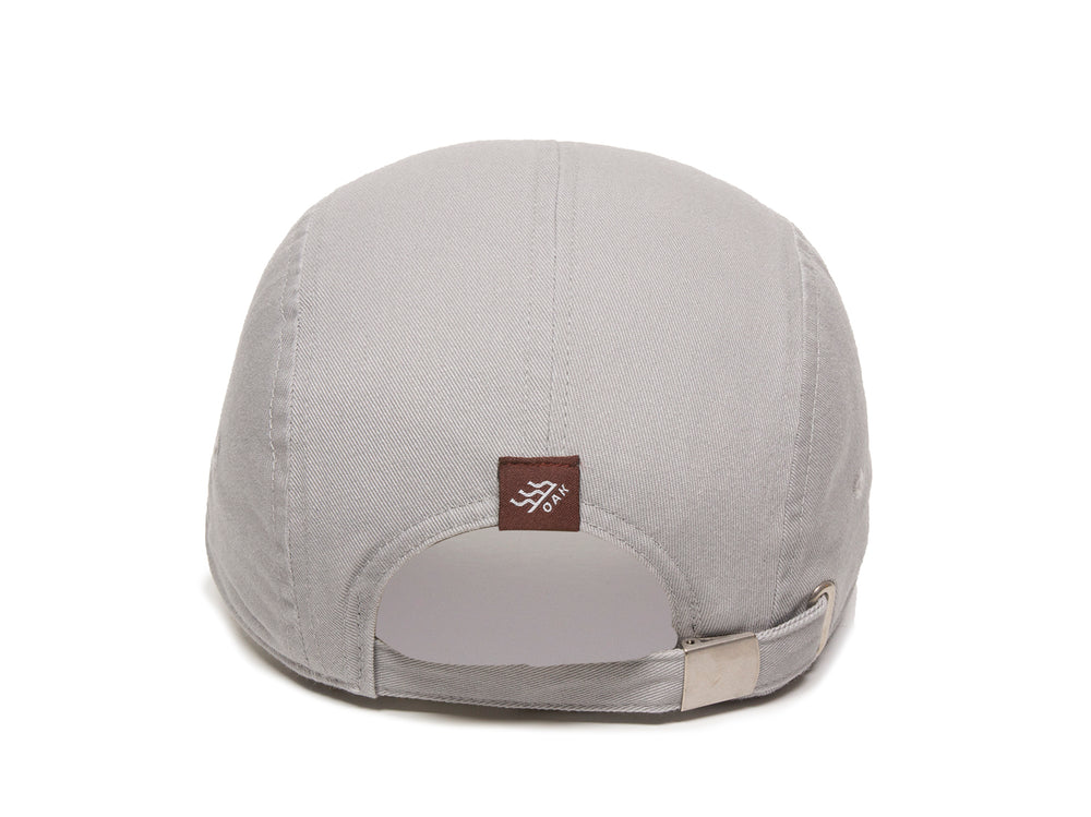 Bankside Scout Patch Ladies Fit Cap Gray Back View