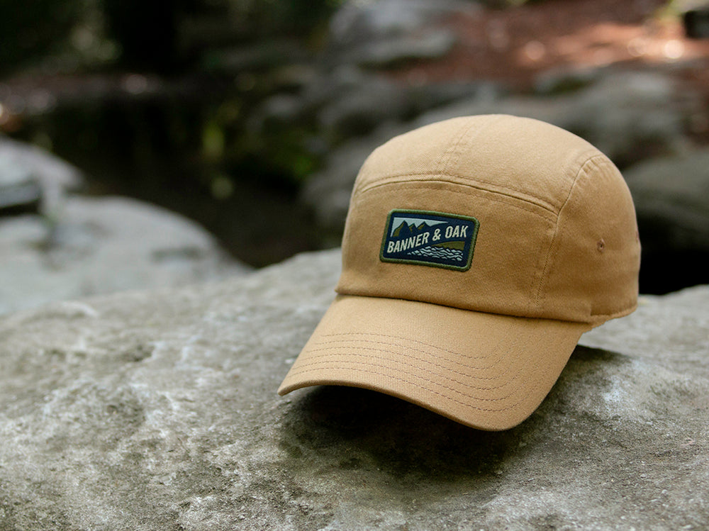 Bankside Scout Patch Ladies Fit Cap Tan