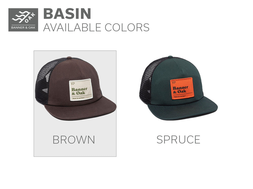 Basin - Brown