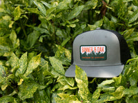 Bighorn Scout Patch Snapback Trucker Hat Charcoal Lifestyle Image
