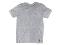 Hobbs Eagle Crewneck T-Shirt Charcoal Gray Front View