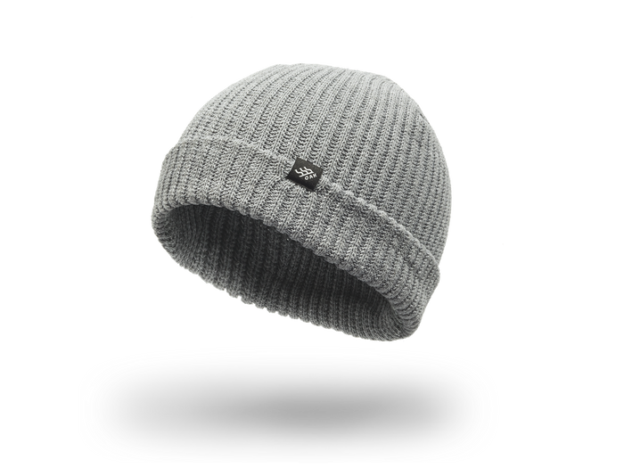 Range Knit Beanie Cap Charcoal Gray