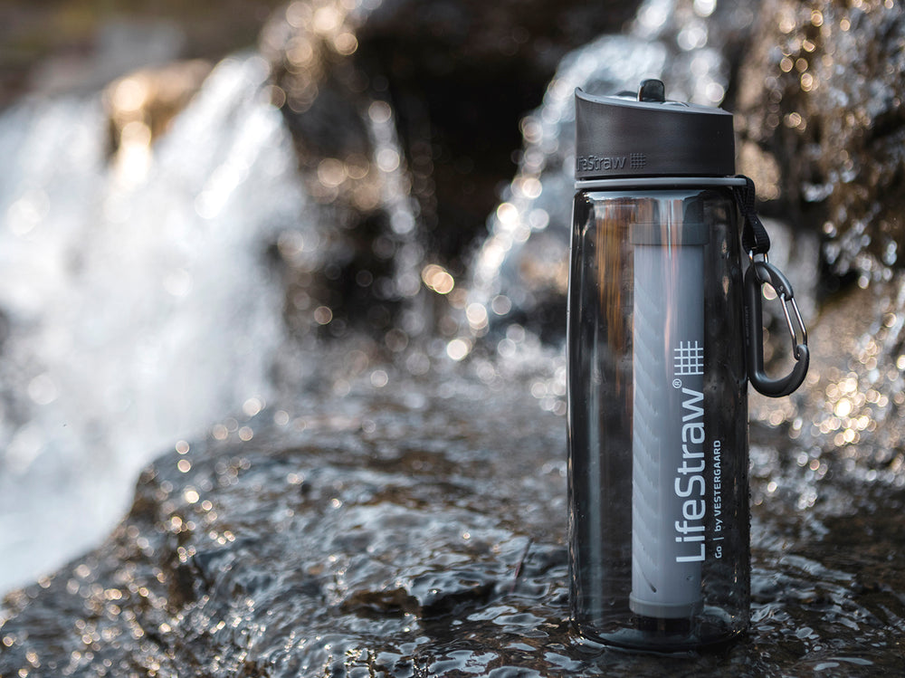 LifeStraw Water Filter Bottle Lifestyle Image