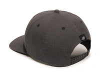Mojave Scout Patch Snapback Cap Charcoal Logo Side Hit