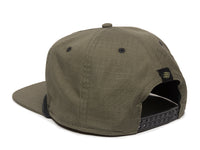 Mojave Scout Patch Snapback Cap Olive Green Logo Side Hit