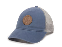 Pathfinder Scout Patch Snapback Trucker Ladies Fit Hat Blue Front Right View