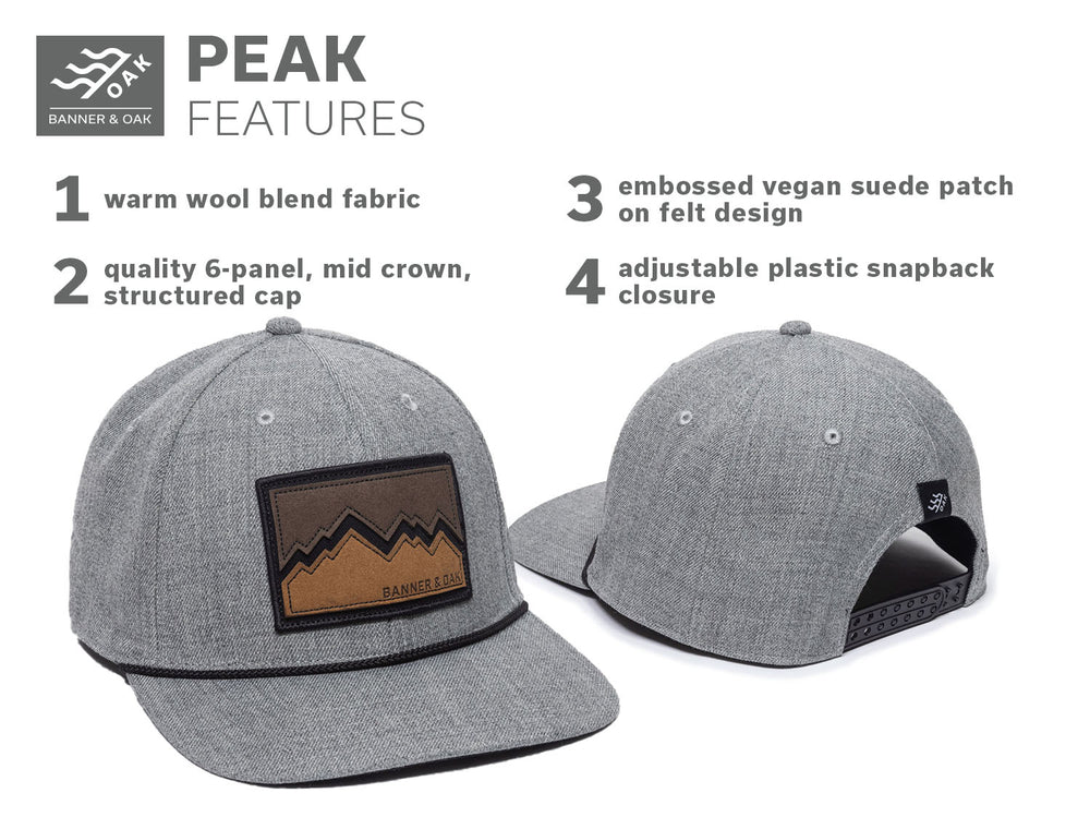 Peak - Heather Gray