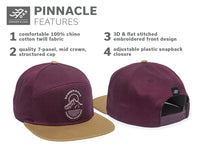 Pinnacle - Maroon