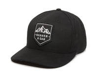 Sierra Scout Patch Snapback Cap Black Front Right View