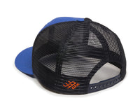 Sierra Scout Patch Snapback Trucker Hat Royal Blue Logo Side Hit