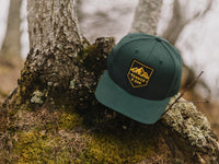 Sierra Scout Patch Snapback Cap Spruce Green Lifestyle Image