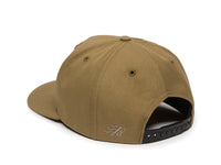 Sierra Scout Patch Snapback Cap Tan Logo Side Hit
