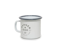 Steel Camper Mug - White