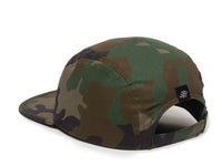 Trailhead Woven Label Patch Cap Camo Logo Side Hit