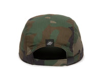 Trailhead Woven Label Patch Cap Camo Back View