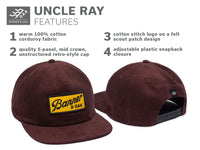 Uncle Ray - Maroon