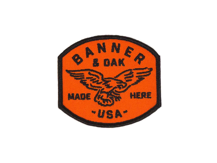 Eagle Scout Patch - Orange