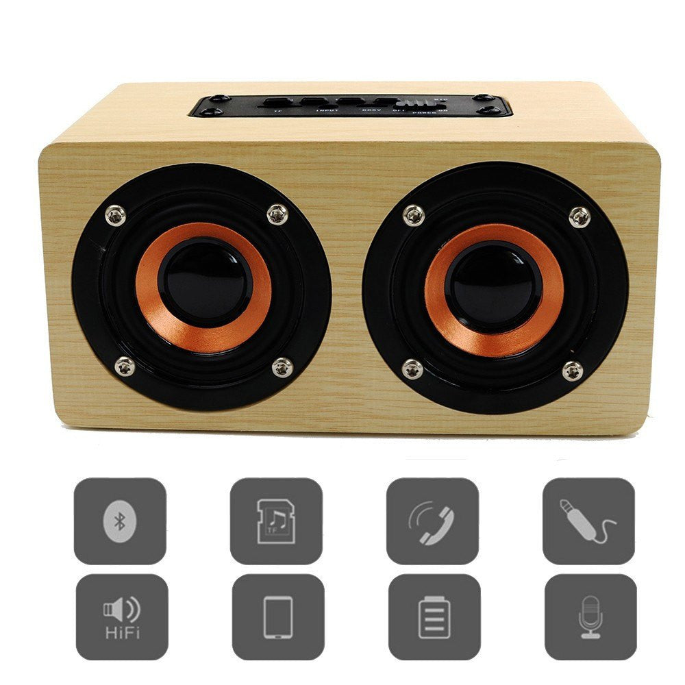Wooden Bluetooth Speakers For Iphone