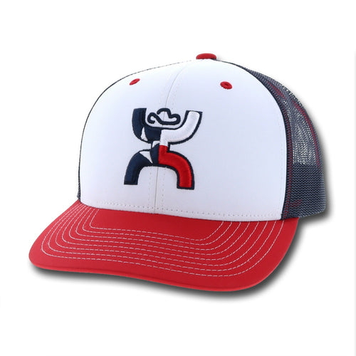 Texican Snapback - Red White & Blue