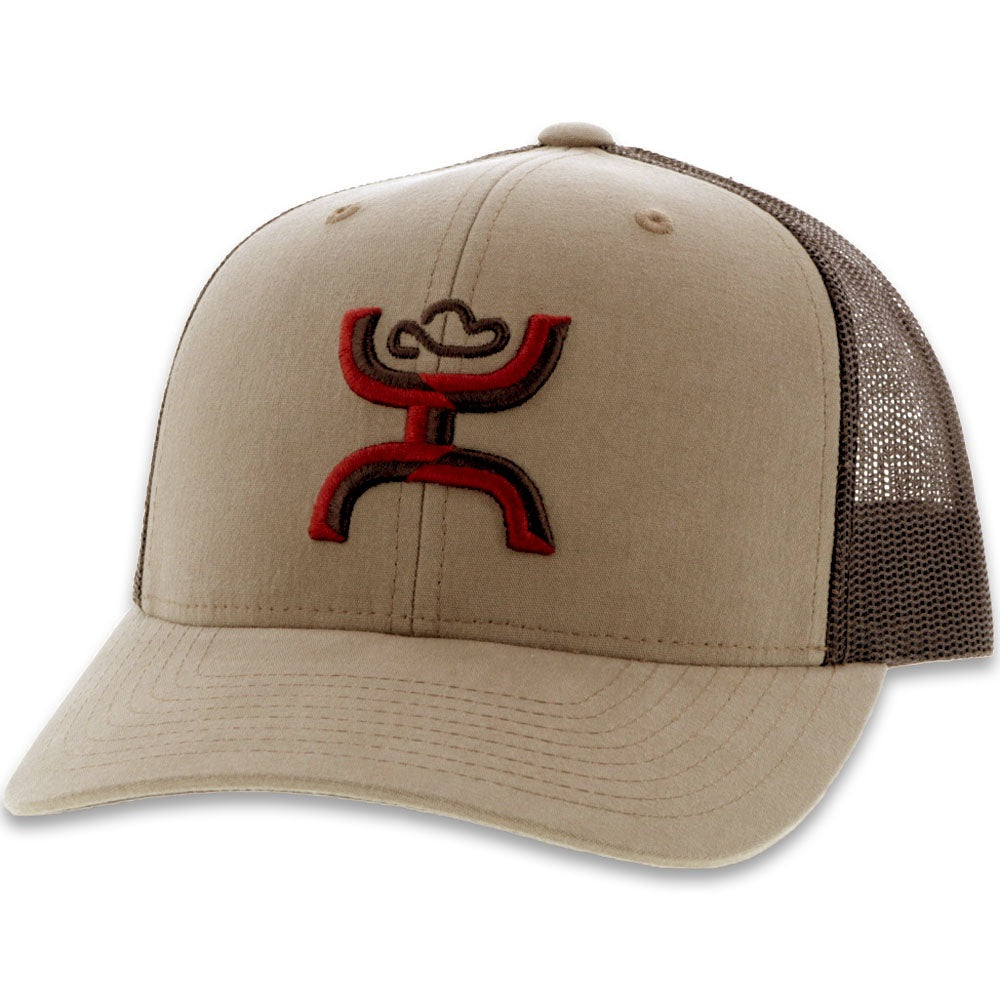 Sterling SnapBack - Tan & Brown