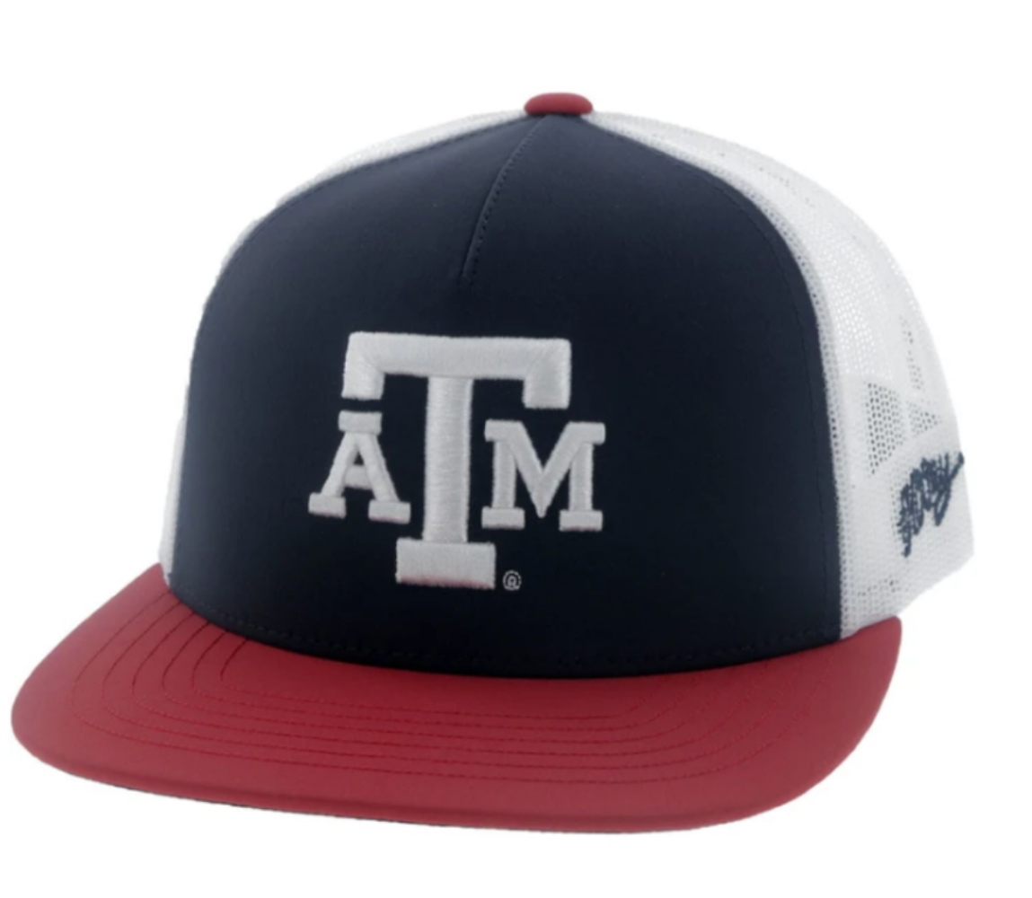 Texas A&M SnapBack - Red, White & Blue