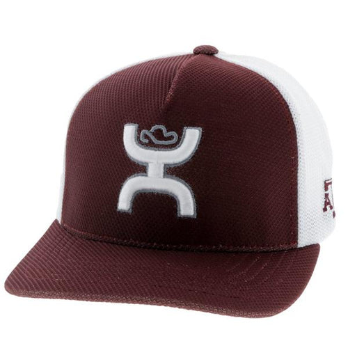 Texas A&M - Maroon & White FlexFit