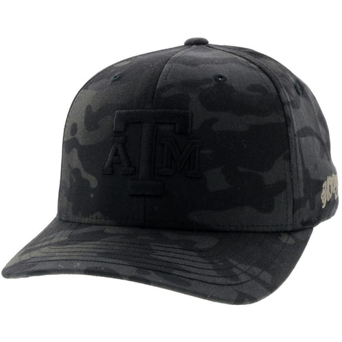 Texas A&M FlexFit - Multi Cam Black Camo