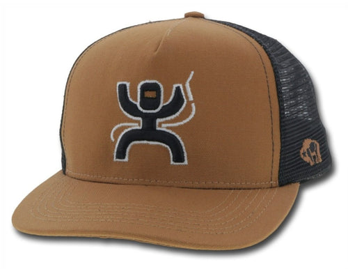 Hooey Arc Welder SnapBack - Tan & Black