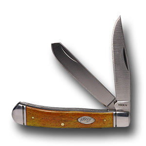 Orange Signature Trapper Knife