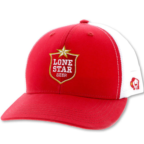 Lone Star Beer by Hooey - Red & White Trucker