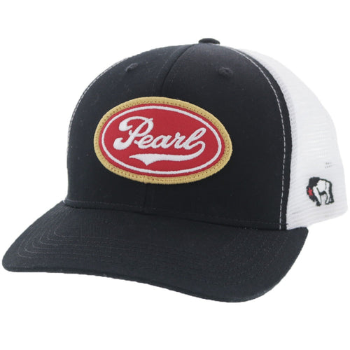 Pearl Beer - Black & White Trucker