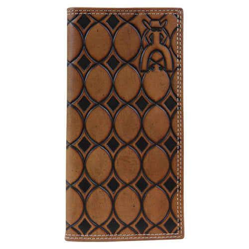 Punchy Signature Rodeo - Chestnut Geometric Tooled