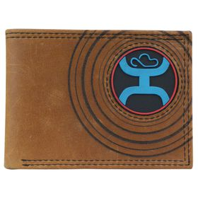 Signature Bi-fold with Black & Blue Circular Logo