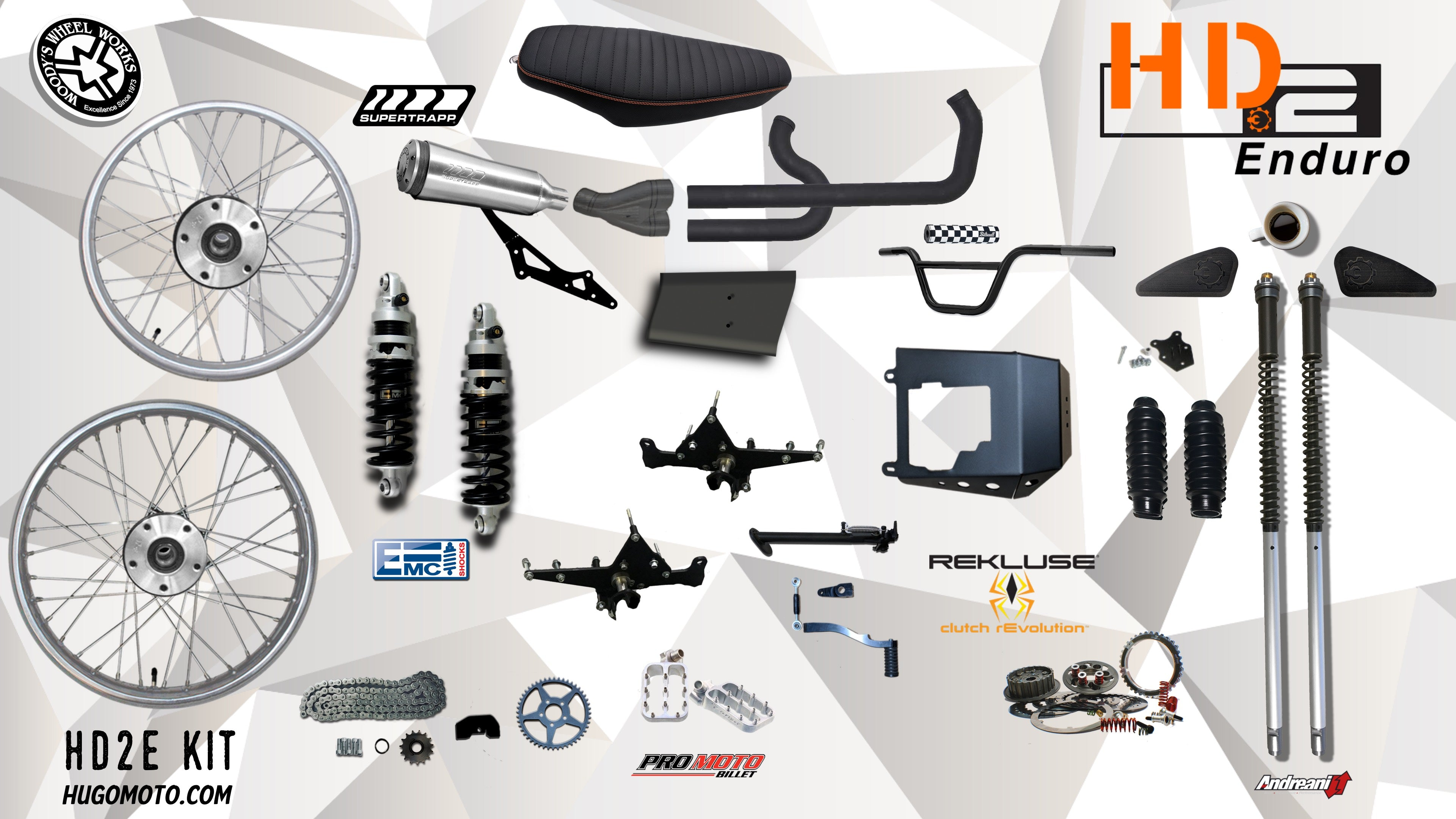 HD2 Enduro Kit Solid Mount Only