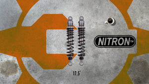 "NITRON R1 Twin 17.5"" Shocks"