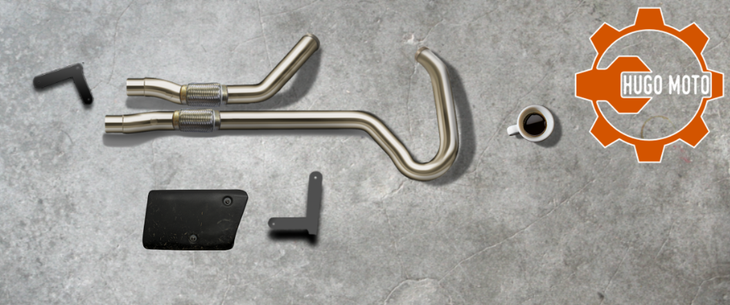 Hugo Moto Exhaust Kit