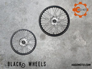 Black Wheels Upgrade ONLY