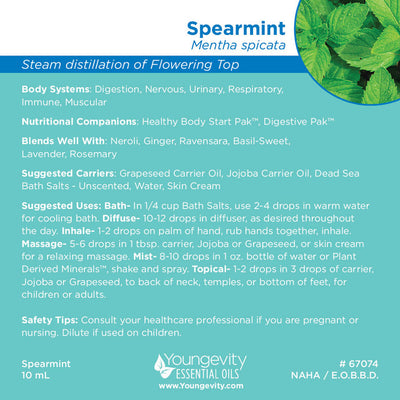 Spearmint Essential Oil - 10ml