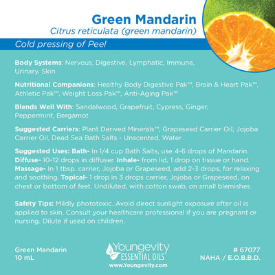 Green Mandarin Essential Oil - 10ml
