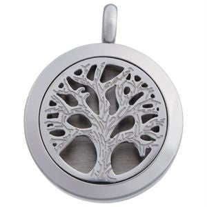 Locket Tree Of Life - Diffuser Necklace