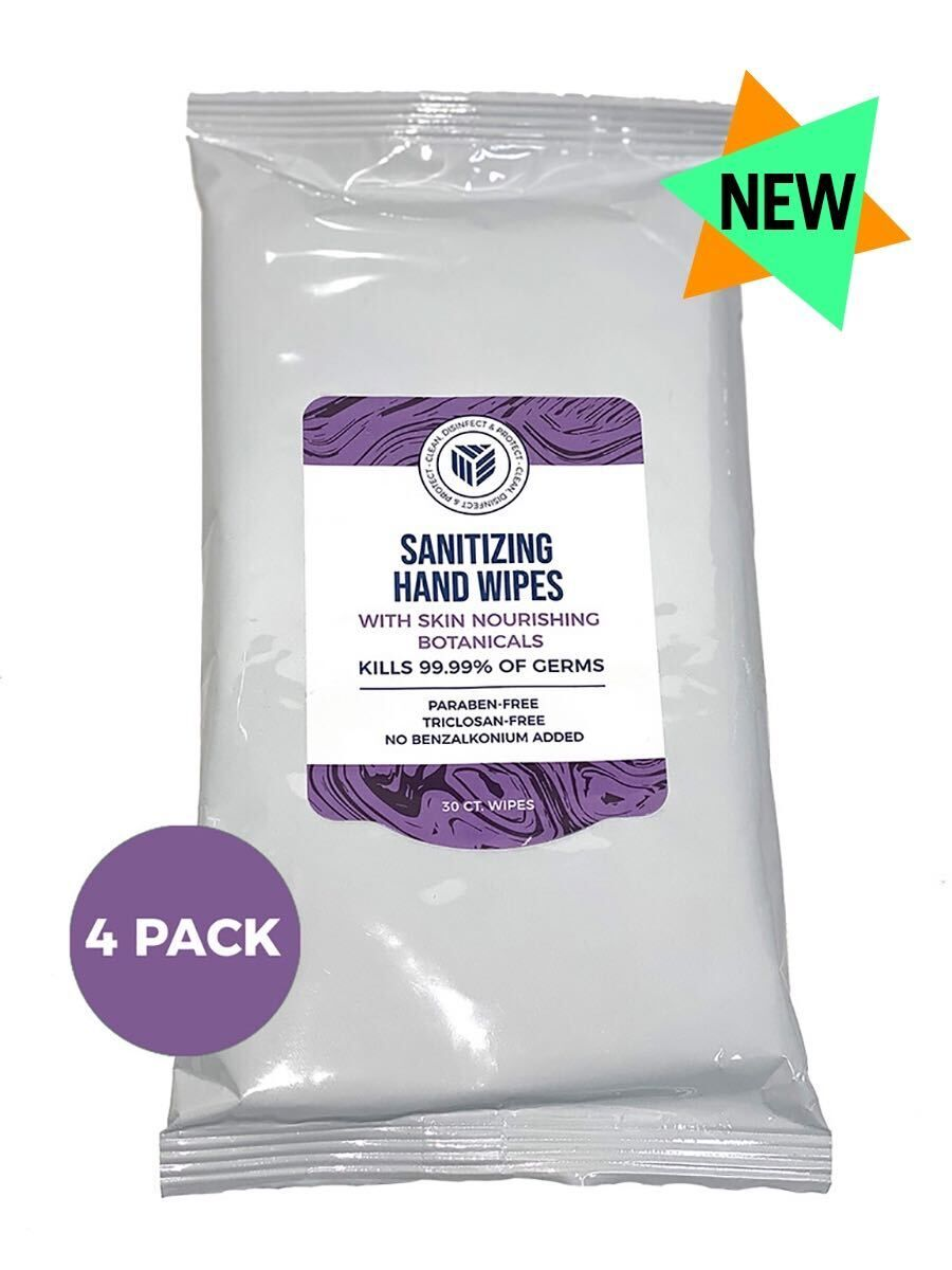 Sanitizing Hand Wipes- 30ct