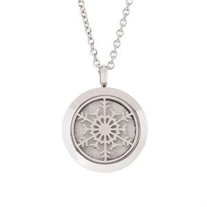 Locket Snowflake - Diffuser Necklace