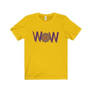 Wow Multi-color Design Tee (8 colors available)