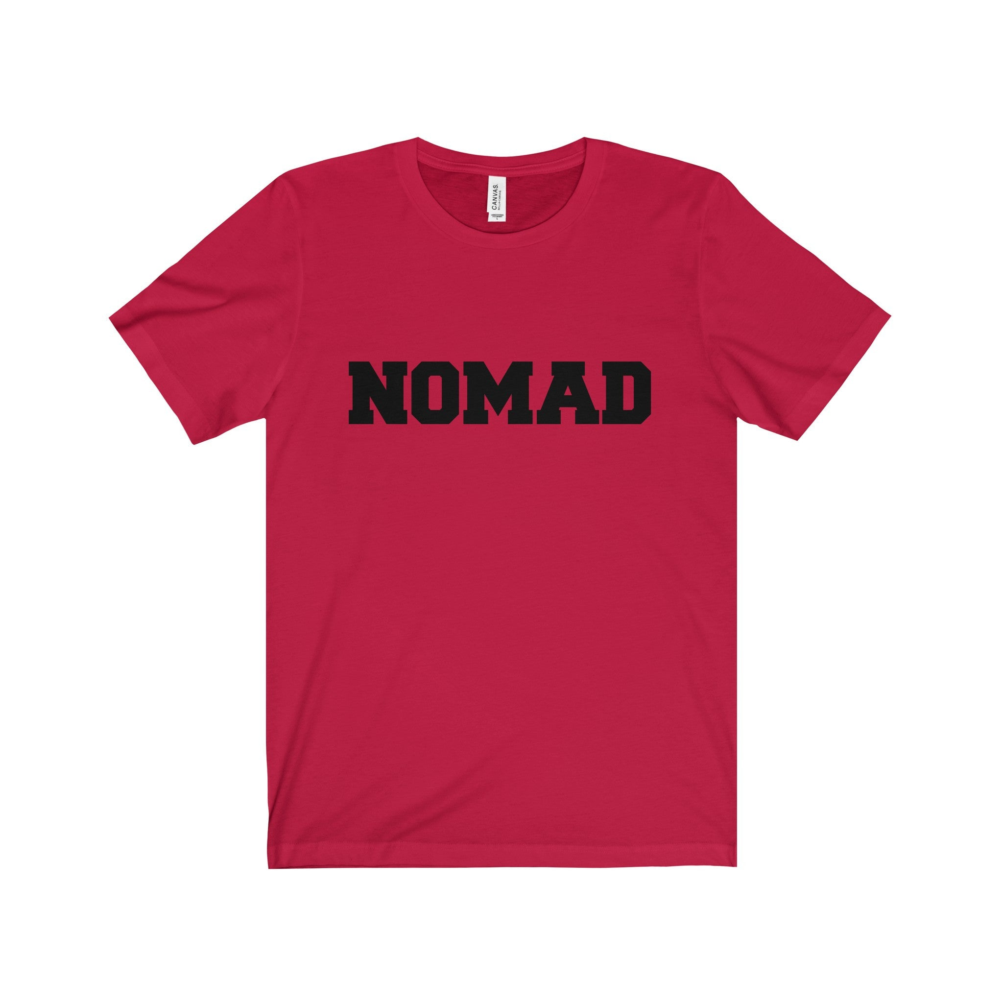 NOMAD Black Letter Tee (5 colors available)